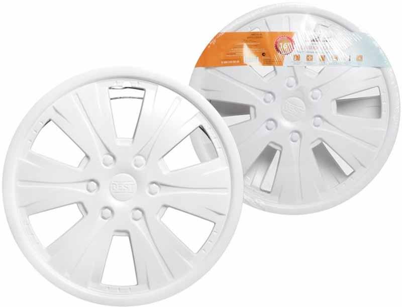 Колпаки колесные Airline Бест, цвет: белый, 16, 2 штAWCC-16-08Колпаки выполнены в стандартной форме, они подойдут, как для задних колес «Газелей», так и для всех дисков своего диаметра. Преимущества: - универсальное крепление обеспечивает равномерное распределение давления на все защелки; - стойкие к повешенным и пониженным температурам; - скрывают изъяны штампованных дисков; - защищают тормозную систему от грязи, соли и реагентов; - обеспечивают вентиляцию тормозных дисков; - открытый доступ к ниппелю; Состав: полистирол (ударопрочный)