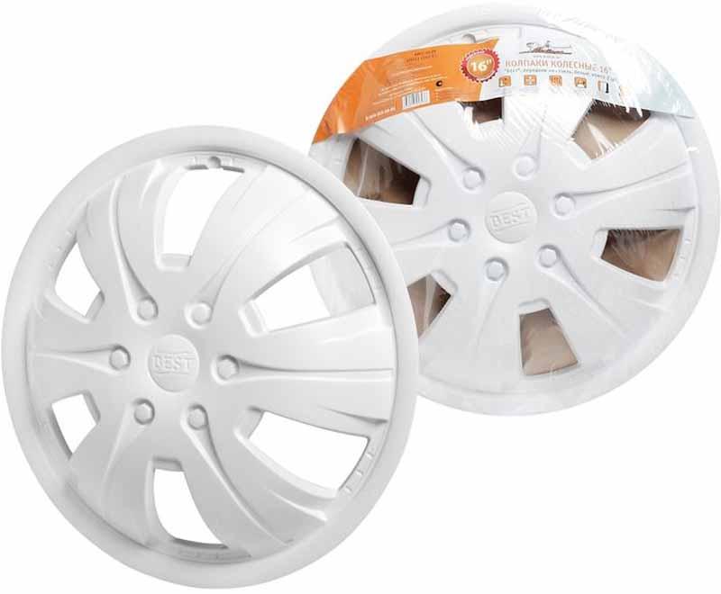Колпаки колесные Airline Бест, передние на Газель, цвет: белый, 16, 2 штAWCC-16-09Колпаки колесные Airline Бест изготовлены из ударопрочного полистирола. Колпаки снабжены надежными универсальными креплениями, позволяющими обеспечивать равномерное распределение давления на все защелки. Колпаки Airline защитят тормозную систему от грязи, соли и реагентов, скроют изъяны штампованных дисков, тем самым украсив ваш автомобиль. Колпаки колесные стойкие к повешенным и пониженным температурам, обеспечивают вентиляцию тормозных дисков и открытый доступ к ниппелю. Колпаки подходят для передних колес автомобилей Газ таких модификаций, как Газель, Соболь, Валдай со специфической (выпуклой) формой диска.