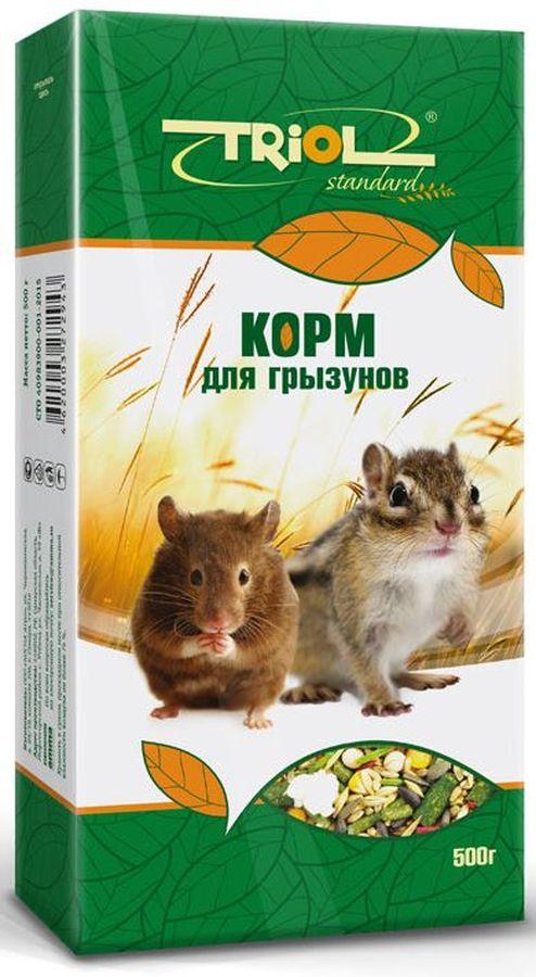 """Triol Корм Тriol """"Standard"""" для грызунов, 500 г Кф-00600"""