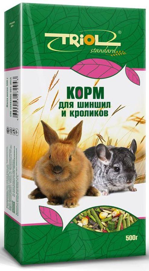 "Triol Корм Тriol ""Standard"" для шиншилл и кроликов, 500 г Кф-01300"