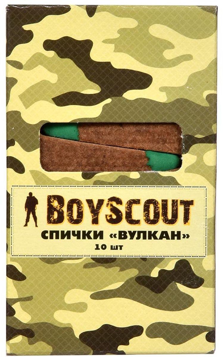 Спички длительного горения Boyscout Вулкан, длина 6 см, 10 шт61034Предназначение: для туристов, охотников, рыболовов. Условия хранения: хранить в сухом месте. Срок годности: не ограничен.