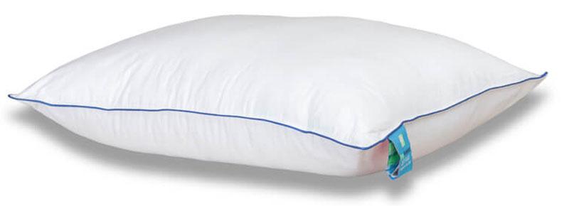 Подушка Аскона Zet Plus, 61 x 38 см00-00001176Перед Вами - усовершенствованная подушка классической формы, которая сочетает в себе привычную мягкость и высокие анатомические свойства. В ее основе – гранулированный материал NeoTaktile, который обеспечивает правильную поддержку головы во время сна. Чехол из лебяжьего пуха создает ощущение сна на привычной пуховой подушке.