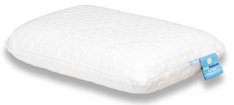 Подушка Аскона Alpha, размер S, 60 x 38,5 см00-00001157Анатомическая подушка выполнена из революционного материала NeoTaktile. Идеально принимает форму головы и хорошо поддерживает шейный отдел позвоночника. Обладает эффектом терморегуляции, пропускает воздух, охлаждает.