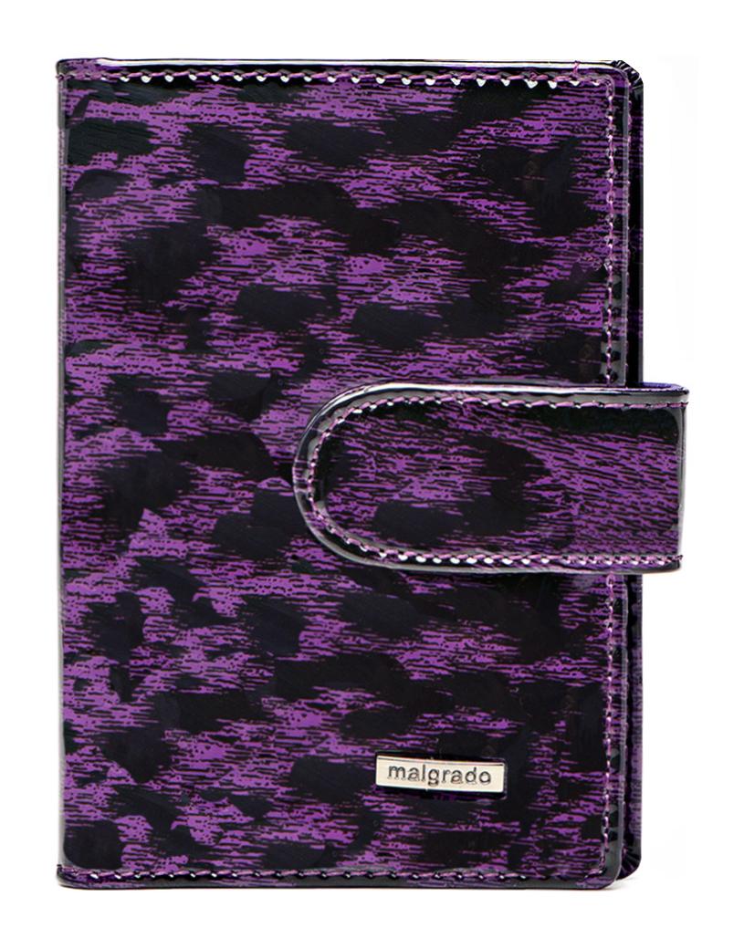 Визитница Malgrado, цвет: фиолетовый. 42003-15802