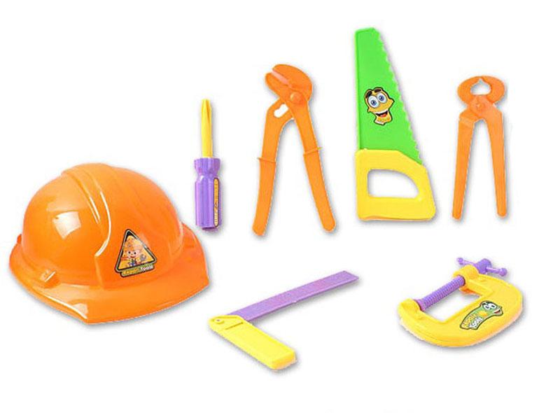 S+S Toys Игровой набор Инструменты в каске