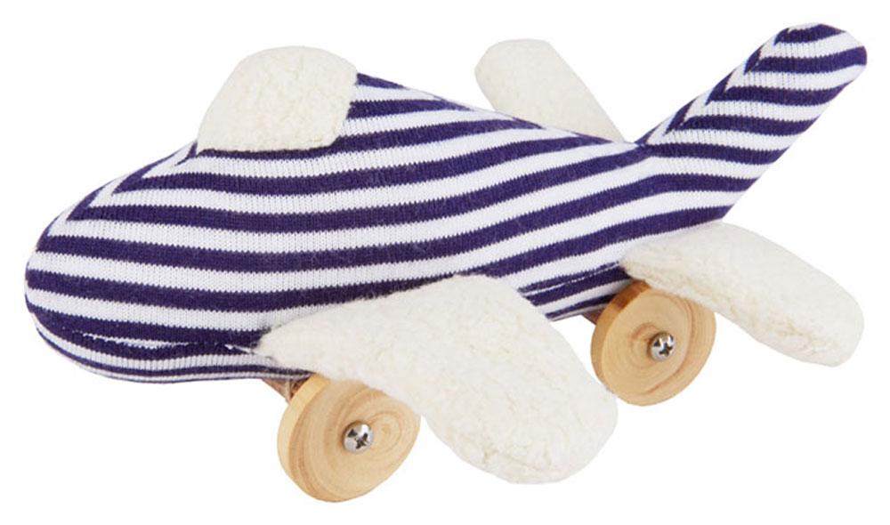Trousselier Мягкая игрушка Самолет на колесиках 16 см