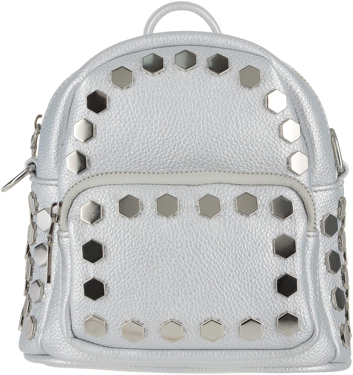 Рюкзак женский Vitacci, цвет: серебряный. HG0036