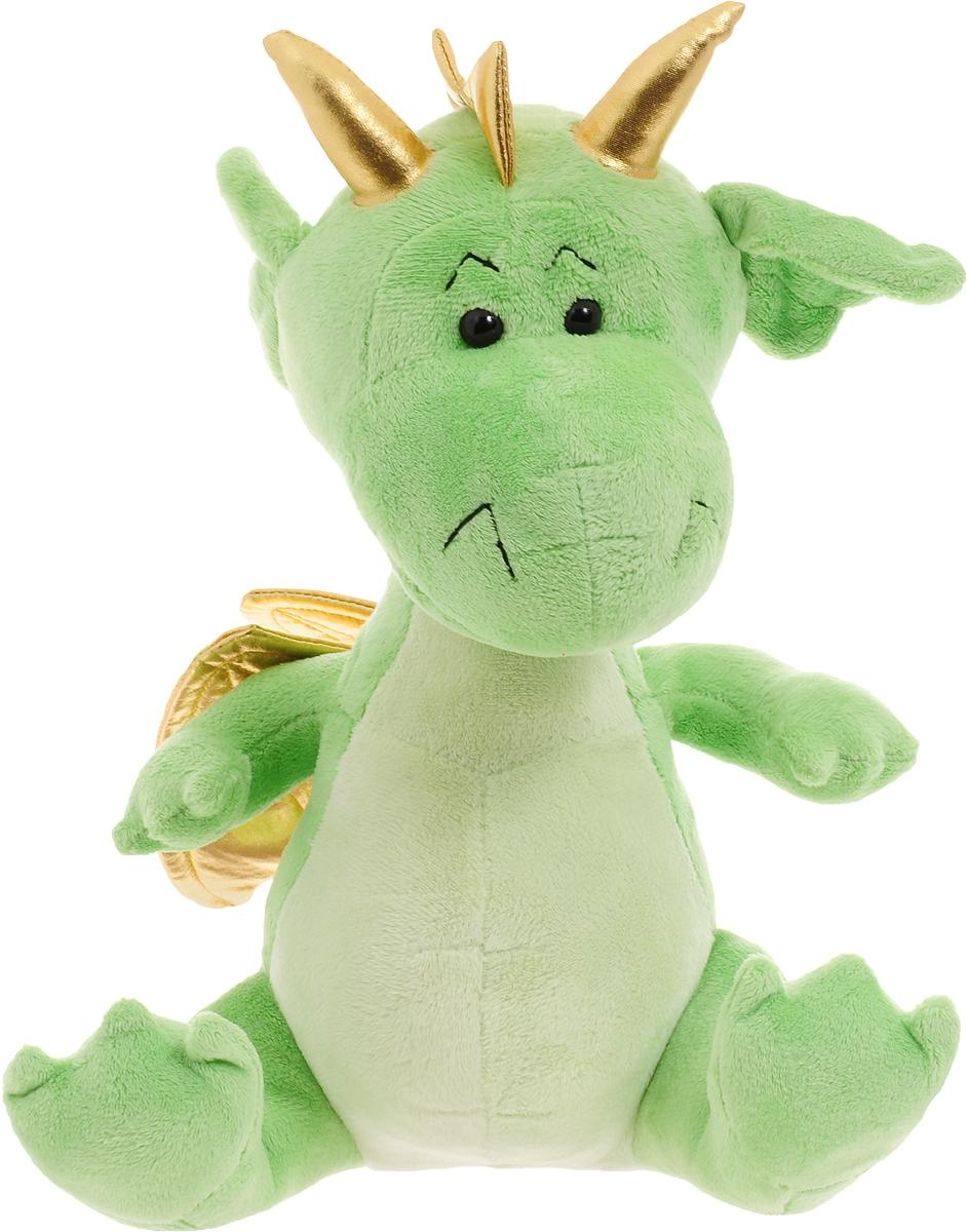 Funny Mishka Мягкая игрушка Дракон цвет салатовый