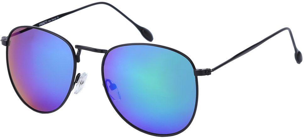 Очки солнцезащитные женские Fabretti, цвет: черный, синий, фиолетовый. E278924-2ZE278924-2ZЖенские очки-авиаторы от итальянского бренда Fabretti – это изысканный аксессуар, который должен быть у каждой модницы в этом сезоне. Стильная форма- авиатор и линзы в ультрасовременном цвете хамелеон с легкостью подчеркнут ваш яркий вкус и дополнят любой современный образ. Зеркальное покрытие линз и аккуратные черные дужки превратили модель, в надежный аксессуар, который будет вашим верным спутником, как на отдыхе, так и за рулем автомобиля.