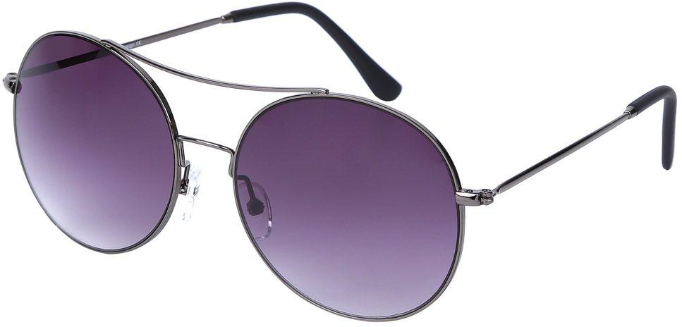 Очки солнцезащитные женские Fabretti, цвет: темно-серый, фиолетовый. E279040-3GE279040-3GЖенские очки-авиаторы от итальянского бренда Fabretti – это изысканный аксессуар, который должен быть у каждой модницы в этом сезоне. Стильная форма,темные-серые линзы и аккуратные дужки с легкостью подчеркнут ваш яркий вкус и дополнят любой современный образ. Зеркальное напыление, большая степень защиты от ультрафиолетовых лучей превращают очки не только в стильную модель, но и в прочный и удобный аксессуар, который предотвратит усталость глаз.