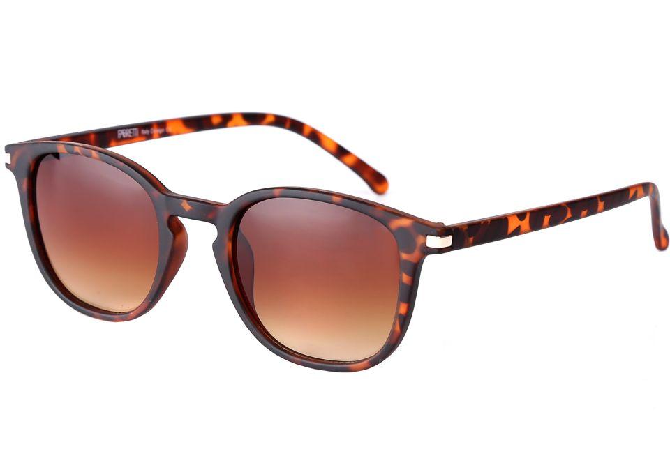 Очки солнцезащитные женские Fabretti, цвет: коричневый. F3715745-2GF3715745-2GСтильные женские очки от итальянского бренда Fabretti – это настоящий must-have этого сезона. Кофейный цвет оправы, анималистический принт оправы и градиентное покрытие линз, - все это подчеркнет Ваше безупречное чувство стиля. Прочное крепление дужек и фурнитура в золотом цвете призваны для того, чтобы аксессуар был не только ультрамодным, но и очень практичным.