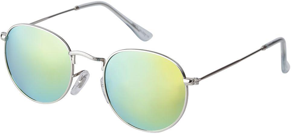Очки солнцезащитные женские Fabretti, цвет: серебристый, бирюзовый. F37161224-2ZF37161224-2ZАккуратные женские очки от итальянского бренда Fabretti выполнены из прочного металла. Яркие зеркальные линзы в синем цвете прекрасно дополнят любой весенне-летний образ. Овальная форма, миниатюрные дужки придают модели нотки невероятного изящества. В комплектации с очками чехол, который можно использовать как салфетку.