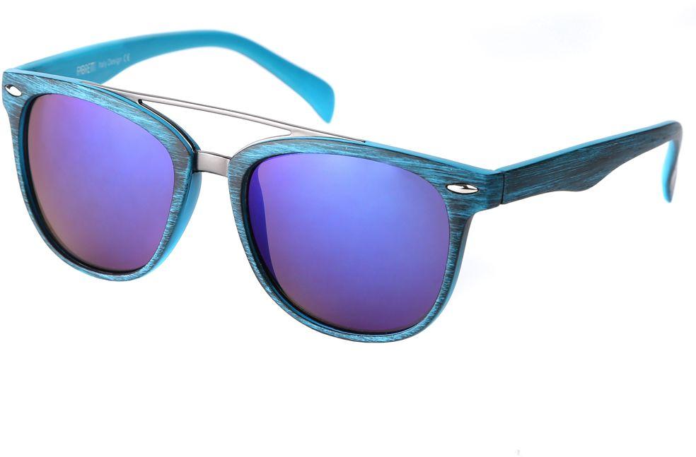 Очки солнцезащитные женские Fabretti, цвет: бирюзовый. F376090-2ZF376090-2ZДизайнерские женские очки от итальянского бренда Fabretti выполнены из многослойного пластика с добавлением прочного металла. Изысканный голубой цвет линз и принт под деревянное покрытие придают модели настоящую нотку итальянского шика. Ультрамодная прямоугольная оправа, мягкое градиентное покрытие линз и фурнитура в стальном оттенке с легкостью подчеркнут ваш изумительный вкус.
