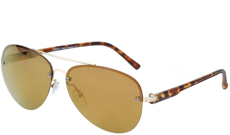 Очки солнцезащитные женские Fabretti, цвет: коричневый. J172460-2PZJ172460-2PZЖенские очки-авиаторы от итальянского бренда Fabretti – это изысканный аксессуар, который должен быть у каждой модницы в этом сезоне. Дизайнерская форма прекрасно подчеркнет ваши скулы, а серебряная фурнитура и стильные коричневые линзы придадут вашему образу яркости и экстравагантности. Поляризационное покрытие, высокая степень защиты от солнечных лучей и надежные крепления помогут приковывать взгляды окружающих протяжении нескольких модных сезонов.