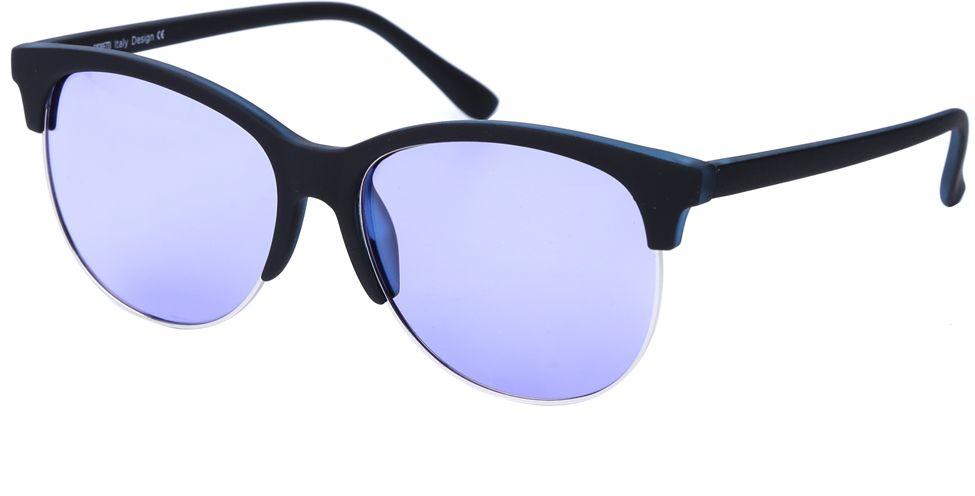 Очки солнцезащитные женские Fabretti, цвет: черный, серебряный, сиреневый. J173607-2PJ173607-2PСтильные женские очки от итальянского бренда Fabretti выполнены в ультрамодном стиле клабмастер, который прекрасно подойдет ко всем типам лица. Наши дизайнеры черпали свое вдохновение в модных показах 60-х годов, и создали уникальную модель, которая дополнит любой современный образ. Элегантное сочетание фиолетовых линз и черной оправы придаст любому образу нотки экстравагантности и элегантности. Поляризация линз, высокая степень защиты от солнечных лучей и надежное крепление дужек, - все это превращает модель в уникальный аксессуар, который будет украшать вас на протяжении нескольких модных сезонов.