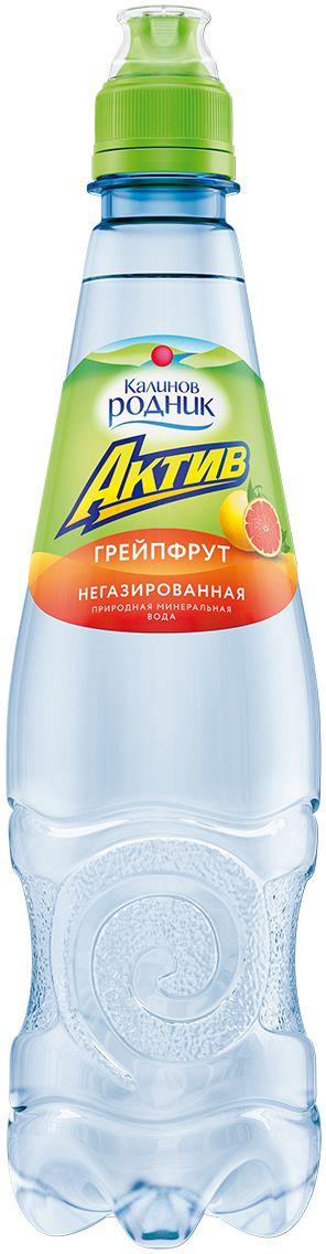 """Калинов Родник """"Актив"""" со вкусом грейпфрута, 0,5 л 4607050695628"""