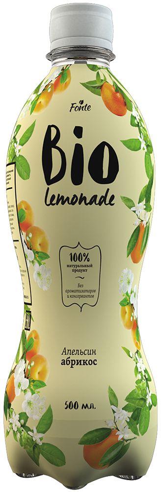Fonte Bio Lemonade Апельсин-Абрикос, 0,5 л 4607050695864