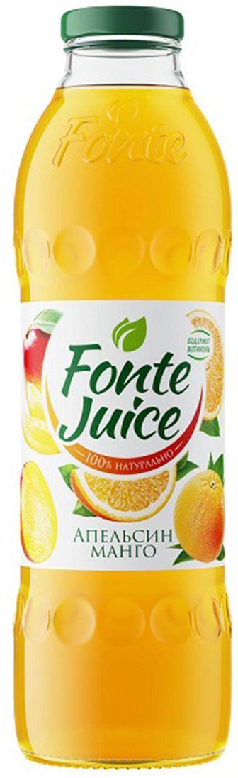 Fonte juice Нектар апельсин, манго, 0,75 л4607050696588Яркий и бодрящий вкус апельсина соединяется с солнечной сладостью манго, чтобы наполнить твое утро бодростью и придать заряд оптимизма на целый день FONTE JUICE АПЕЛЬСИН-МАНГО — источник твоего оптимизма!