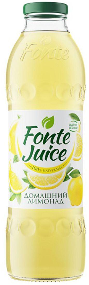 Fonte juice Домашний лимонад напиток сокосодержащий, 0,75л4607050696687Напиток сокосодержащий «Домашний лимонад» , обогащенный витаминами. Освежающий вкус домашнего лимонада утоляет жажду, а ценные витамины в составе мгновенно заряжают тебя энергией FONTE JUICE ДОМАШНИЙ ЛИМОНАД — источник твоей активности!
