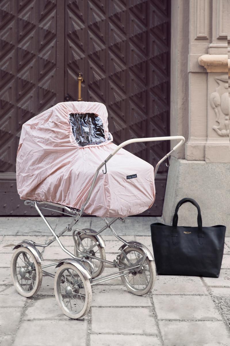 Elodie Details Дождевик для коляски Powder Pink