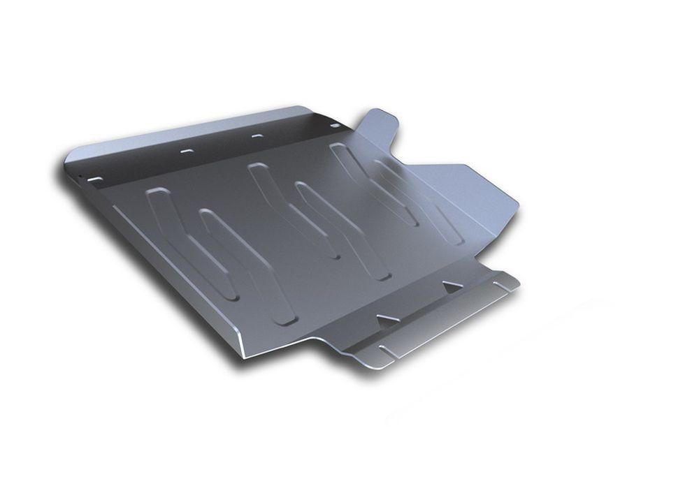Защита радиатора Rival, для Infiniti QX80, Infiniti QX56, алюминий 4 мм3.2408.1Защита радиатора для Infiniti QX80 V - 5,6 2013-; Infiniti QX56 V - 5,6 2010-2013; , без крепежа (штатный), алюминий 4 мм, Rival Алюминиевые защиты картера Rival надежно защищают днище вашего автомобиля от повреждений, например при наезде на бордюры, а также выполняют эстетическую функцию при установке на высокие автомобили. - Толщина алюминиевых защит в 2 раза толще стальных, а вес при этом меньше до 30%. - Отлично отводит тепло от двигателя своей поверхностью, что спасает двигатель от перегрева в летний период или при высоких нагрузках. - В отличие от стальных, алюминиевые защиты не поддаются коррозии, что гарантирует срок службы защит более 5 лет. - Покрываются порошковой краской, что надолго сохраняет первоначальный вид новой защиты и защищает от гальванической коррозии. - Глубокий штамп дополнительно усиливает конструкцию защиты. - Подштамповка в местах крепления защищает крепеж от срезания. -...