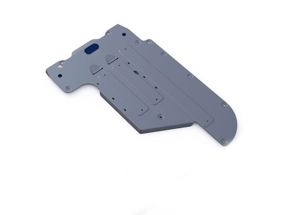 Защита КПП Rival, для BMW 5, алюминий 4 мм333.0524.1Защита КПП для BMW 5, 2WD 520i520d 2010-, крепеж в комплекте, алюминий 4 мм, Rival Алюминиевые защиты картера Rival надежно защищают днище вашего автомобиля от повреждений, например при наезде на бордюры, а также выполняют эстетическую функцию при установке на высокие автомобили. - Толщина алюминиевых защит в 2 раза толще стальных, а вес при этом меньше до 30%. - Отлично отводит тепло от двигателя своей поверхностью, что спасает двигатель от перегрева в летний период или при высоких нагрузках. - В отличие от стальных, алюминиевые защиты не поддаются коррозии, что гарантирует срок службы защит более 5 лет. - Покрываются порошковой краской, что надолго сохраняет первоначальный вид новой защиты и защищает от гальванической коррозии. - Глубокий штамп дополнительно усиливает конструкцию защиты. - Подштамповка в местах крепления защищает крепеж от срезания. - Технологические отверстия там, где они...