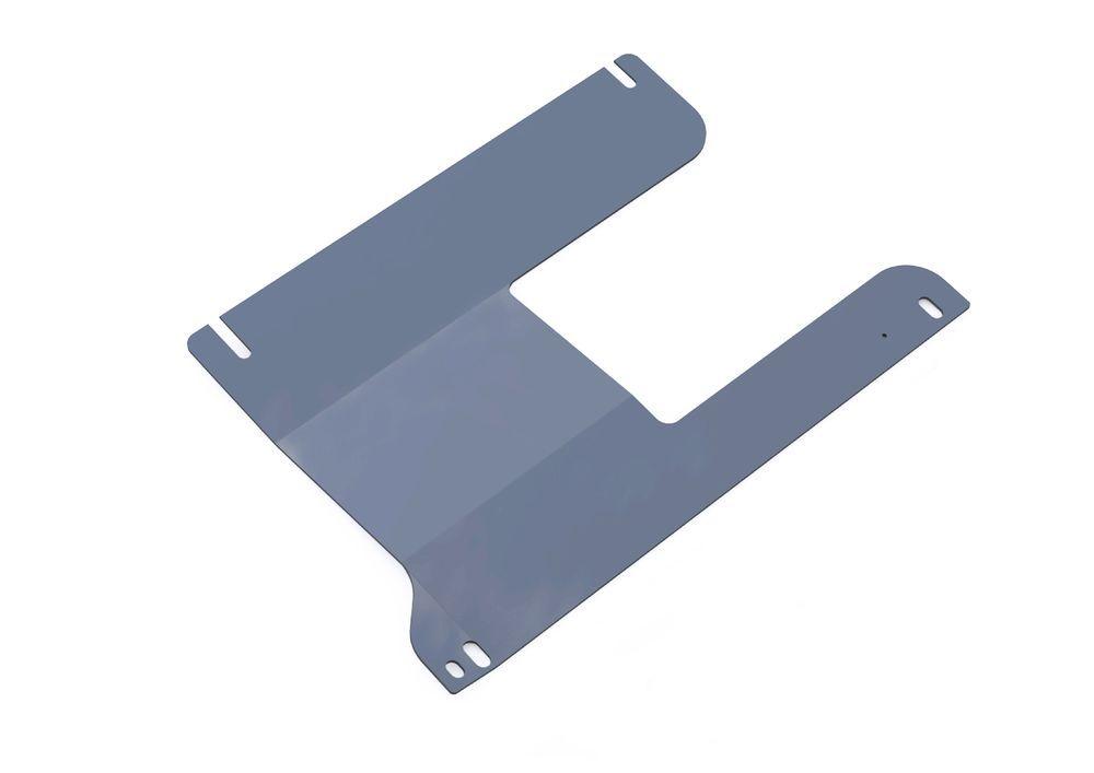 Защита РК Rival, для Ford Ranger, алюминий 4 мм. 333.1810.1333.1810.1Защита РК для Ford Ranger , V - 2,5Т 2007-2012, крепеж в комплекте, алюминий 4 мм, Rival Алюминиевые защиты картера Rival надежно защищают днище вашего автомобиля от повреждений, например при наезде на бордюры, а также выполняют эстетическую функцию при установке на высокие автомобили. - Толщина алюминиевых защит в 2 раза толще стальных, а вес при этом меньше до 30%. - Отлично отводит тепло от двигателя своей поверхностью, что спасает двигатель от перегрева в летний период или при высоких нагрузках. - В отличие от стальных, алюминиевые защиты не поддаются коррозии, что гарантирует срок службы защит более 5 лет. - Покрываются порошковой краской, что надолго сохраняет первоначальный вид новой защиты и защищает от гальванической коррозии. - Глубокий штамп дополнительно усиливает конструкцию защиты. - Подштамповка в местах крепления защищает крепеж от срезания. - Технологические отверстия там, где они...