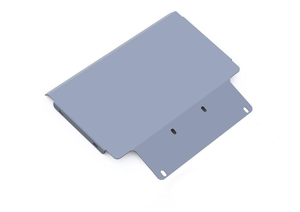 Защита картера Rival, для Ford Explorer, алюминий 4 мм333.1818.1Защита картера для Ford Explorer , V - 4,0; 4,6 2006-2011, крепеж в комплекте, алюминий 4 мм, Rival Алюминиевые защиты картера Rival надежно защищают днище вашего автомобиля от повреждений, например при наезде на бордюры, а также выполняют эстетическую функцию при установке на высокие автомобили. - Толщина алюминиевых защит в 2 раза толще стальных, а вес при этом меньше до 30%. - Отлично отводит тепло от двигателя своей поверхностью, что спасает двигатель от перегрева в летний период или при высоких нагрузках. - В отличие от стальных, алюминиевые защиты не поддаются коррозии, что гарантирует срок службы защит более 5 лет. - Покрываются порошковой краской, что надолго сохраняет первоначальный вид новой защиты и защищает от гальванической коррозии. - Глубокий штамп дополнительно усиливает конструкцию защиты. - Подштамповка в местах крепления защищает крепеж от срезания. - Технологические отверстия там,...