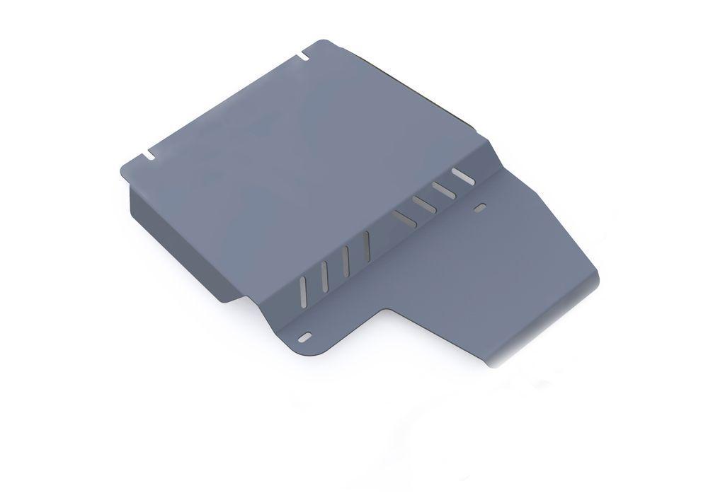 Защита РК Rival, для Ford Explorer, алюминий 4 мм333.1820.1Защита РК для Ford Explorer , V - 4,0; 4,6 2006-2011, крепеж в комплекте, алюминий 4 мм, Rival Алюминиевые защиты картера Rival надежно защищают днище вашего автомобиля от повреждений, например при наезде на бордюры, а также выполняют эстетическую функцию при установке на высокие автомобили. - Толщина алюминиевых защит в 2 раза толще стальных, а вес при этом меньше до 30%. - Отлично отводит тепло от двигателя своей поверхностью, что спасает двигатель от перегрева в летний период или при высоких нагрузках. - В отличие от стальных, алюминиевые защиты не поддаются коррозии, что гарантирует срок службы защит более 5 лет. - Покрываются порошковой краской, что надолго сохраняет первоначальный вид новой защиты и защищает от гальванической коррозии. - Глубокий штамп дополнительно усиливает конструкцию защиты. - Подштамповка в местах крепления защищает крепеж от срезания. - Технологические отверстия там, где...