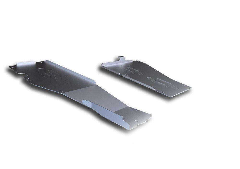 Защита топливных трубок Rival, для Honda Pilot, алюминий 4 мм333.2124.1Защита топливных трубок для Honda Pilot , V - 3,5 2012-, крепеж в комплекте, алюминий 4 мм, Rival Алюминиевые защиты картера Rival надежно защищают днище вашего автомобиля от повреждений, например при наезде на бордюры, а также выполняют эстетическую функцию при установке на высокие автомобили. - Толщина алюминиевых защит в 2 раза толще стальных, а вес при этом меньше до 30%. - Отлично отводит тепло от двигателя своей поверхностью, что спасает двигатель от перегрева в летний период или при высоких нагрузках. - В отличие от стальных, алюминиевые защиты не поддаются коррозии, что гарантирует срок службы защит более 5 лет. - Покрываются порошковой краской, что надолго сохраняет первоначальный вид новой защиты и защищает от гальванической коррозии. - Глубокий штамп дополнительно усиливает конструкцию защиты. - Подштамповка в местах крепления защищает крепеж от срезания. - Технологические отверстия там, где...