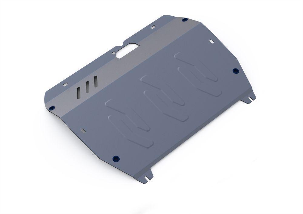 Защита картера и КПП Rival, для Hyundai Santa Fe Classic, алюминий 4 мм333.2308.1Защита картера и КПП для Hyundai Santa Fe Classic , V - все 2001-2006 2006-2012, крепеж в комплекте, алюминий 4 мм, Rival Алюминиевые защиты картера Rival надежно защищают днище вашего автомобиля от повреждений, например при наезде на бордюры, а также выполняют эстетическую функцию при установке на высокие автомобили. - Толщина алюминиевых защит в 2 раза толще стальных, а вес при этом меньше до 30%. - Отлично отводит тепло от двигателя своей поверхностью, что спасает двигатель от перегрева в летний период или при высоких нагрузках. - В отличие от стальных, алюминиевые защиты не поддаются коррозии, что гарантирует срок службы защит более 5 лет. - Покрываются порошковой краской, что надолго сохраняет первоначальный вид новой защиты и защищает от гальванической коррозии. - Глубокий штамп дополнительно усиливает конструкцию защиты. - Подштамповка в местах крепления защищает крепеж от срезания. -...