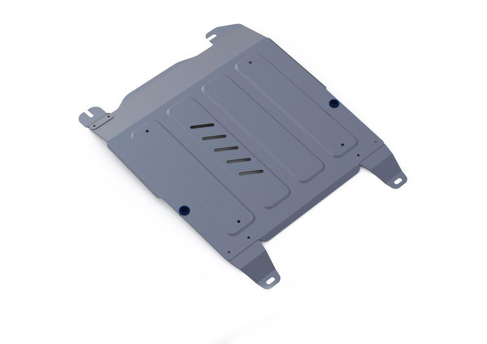 Защита картера и КПП Rival, для Hyundai Sonata V, алюминий 4 мм333.2310.1Защита картера и КПП для Hyundai Sonata V(EF) , V - 2,0; 2,7 2001-2013, крепеж в комплекте, алюминий 4 мм, Rival Алюминиевые защиты картера Rival надежно защищают днище вашего автомобиля от повреждений, например при наезде на бордюры, а также выполняют эстетическую функцию при установке на высокие автомобили. - Толщина алюминиевых защит в 2 раза толще стальных, а вес при этом меньше до 30%. - Отлично отводит тепло от двигателя своей поверхностью, что спасает двигатель от перегрева в летний период или при высоких нагрузках. - В отличие от стальных, алюминиевые защиты не поддаются коррозии, что гарантирует срок службы защит более 5 лет. - Покрываются порошковой краской, что надолго сохраняет первоначальный вид новой защиты и защищает от гальванической коррозии. - Глубокий штамп дополнительно усиливает конструкцию защиты. - Подштамповка в местах крепления защищает крепеж от срезания. - Технологические...
