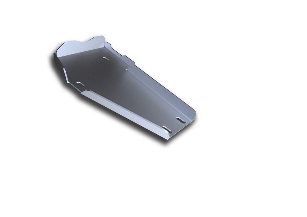 Защита редуктора Rival, для Hyundai Santa Fe Premium, алюминий 4 мм333.2337.1Защита редуктора для Hyundai Santa Fe Premium , V - 2,2D, 2,4i 2015-, крепеж в комплекте, алюминий 4 мм, Rival Алюминиевые защиты картера Rival надежно защищают днище вашего автомобиля от повреждений, например при наезде на бордюры, а также выполняют эстетическую функцию при установке на высокие автомобили. - Толщина алюминиевых защит в 2 раза толще стальных, а вес при этом меньше до 30%. - Отлично отводит тепло от двигателя своей поверхностью, что спасает двигатель от перегрева в летний период или при высоких нагрузках. - В отличие от стальных, алюминиевые защиты не поддаются коррозии, что гарантирует срок службы защит более 5 лет. - Покрываются порошковой краской, что надолго сохраняет первоначальный вид новой защиты и защищает от гальванической коррозии. - Глубокий штамп дополнительно усиливает конструкцию защиты. - Подштамповка в местах крепления защищает крепеж от срезания. - Технологические...