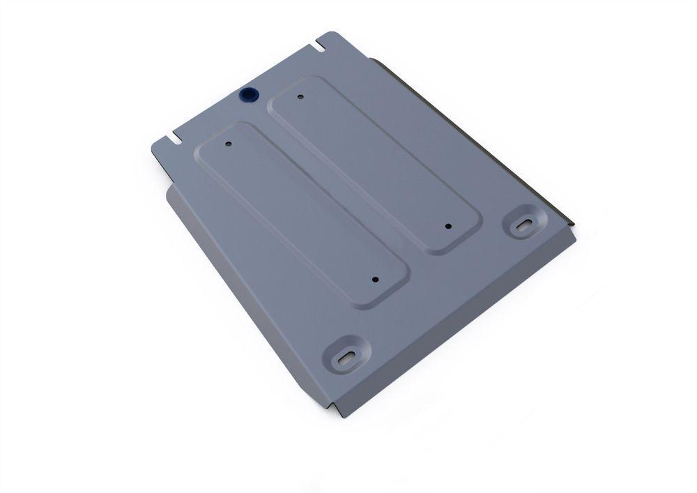 Защита КПП Rival, для Hyundai Genesis, алюминий 4 мм333.2355.1Защита КПП для Hyundai Genesis 4WD,V-3,0, 3,8 2014-2016, крепеж в комплекте, алюминий 4 мм, Rival Алюминиевые защиты картера Rival надежно защищают днище вашего автомобиля от повреждений, например при наезде на бордюры, а также выполняют эстетическую функцию при установке на высокие автомобили. - Толщина алюминиевых защит в 2 раза толще стальных, а вес при этом меньше до 30%. - Отлично отводит тепло от двигателя своей поверхностью, что спасает двигатель от перегрева в летний период или при высоких нагрузках. - В отличие от стальных, алюминиевые защиты не поддаются коррозии, что гарантирует срок службы защит более 5 лет. - Покрываются порошковой краской, что надолго сохраняет первоначальный вид новой защиты и защищает от гальванической коррозии. - Глубокий штамп дополнительно усиливает конструкцию защиты. - Подштамповка в местах крепления защищает крепеж от срезания. - Технологические отверстия там, где...