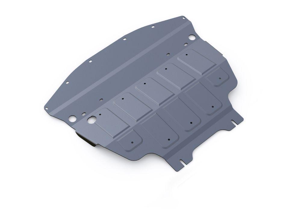 Защита картера Rival, для Infiniti Q70, алюминий 4 мм. 333.2412.1333.2412.1Защита картера для Infiniti Q70, V - 3,7 2014-, крепеж в комплекте, алюминий 4 мм, Rival Алюминиевые защиты картера Rival надежно защищают днище вашего автомобиля от повреждений, например при наезде на бордюры, а также выполняют эстетическую функцию при установке на высокие автомобили. - Толщина алюминиевых защит в 2 раза толще стальных, а вес при этом меньше до 30%. - Отлично отводит тепло от двигателя своей поверхностью, что спасает двигатель от перегрева в летний период или при высоких нагрузках. - В отличие от стальных, алюминиевые защиты не поддаются коррозии, что гарантирует срок службы защит более 5 лет. - Покрываются порошковой краской, что надолго сохраняет первоначальный вид новой защиты и защищает от гальванической коррозии. - Глубокий штамп дополнительно усиливает конструкцию защиты. - Подштамповка в местах крепления защищает крепеж от срезания. - Технологические отверстия там, где они...