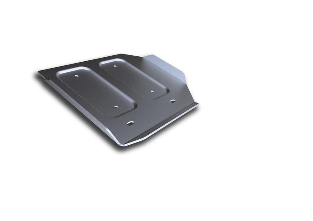 Защита РК Rival, для Infiniti Q50, алюминий 4 мм333.2419.1Защита РК для Infiniti Q50; 4WD, V - 3,5 Hybrid 2013-, крепеж в комплекте, алюминий 4 мм, Rival Алюминиевые защиты картера Rival надежно защищают днище вашего автомобиля от повреждений, например при наезде на бордюры, а также выполняют эстетическую функцию при установке на высокие автомобили. - Толщина алюминиевых защит в 2 раза толще стальных, а вес при этом меньше до 30%. - Отлично отводит тепло от двигателя своей поверхностью, что спасает двигатель от перегрева в летний период или при высоких нагрузках. - В отличие от стальных, алюминиевые защиты не поддаются коррозии, что гарантирует срок службы защит более 5 лет. - Покрываются порошковой краской, что надолго сохраняет первоначальный вид новой защиты и защищает от гальванической коррозии. - Глубокий штамп дополнительно усиливает конструкцию защиты. - Подштамповка в местах крепления защищает крепеж от срезания. - Технологические отверстия там, где...