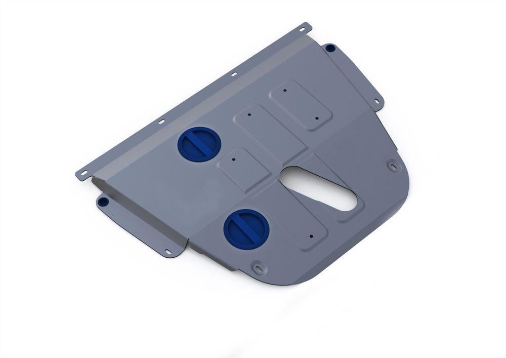 Защита картера и КПП Rival, для Jeep Cherokee, алюминий 4 мм333.2728.1Защита картера и КПП для Jeep Cherokee АКПП, 4WD, V - 2,4, 3,2 2014-, крепеж в комплекте, алюминий 4 мм, Rival Алюминиевые защиты картера Rival надежно защищают днище вашего автомобиля от повреждений, например при наезде на бордюры, а также выполняют эстетическую функцию при установке на высокие автомобили. - Толщина алюминиевых защит в 2 раза толще стальных, а вес при этом меньше до 30%. - Отлично отводит тепло от двигателя своей поверхностью, что спасает двигатель от перегрева в летний период или при высоких нагрузках. - В отличие от стальных, алюминиевые защиты не поддаются коррозии, что гарантирует срок службы защит более 5 лет. - Покрываются порошковой краской, что надолго сохраняет первоначальный вид новой защиты и защищает от гальванической коррозии. - Глубокий штамп дополнительно усиливает конструкцию защиты. - Подштамповка в местах крепления защищает крепеж от срезания. - Технологические...