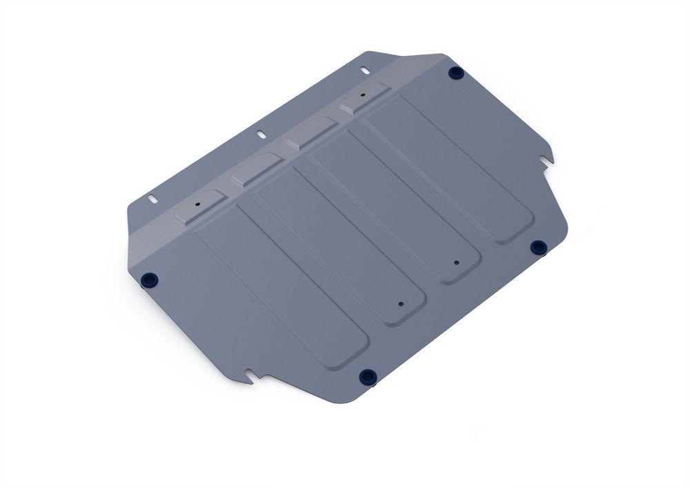 Защита картера и КПП Rival, для Kia Rio III, алюминий 4 мм333.2805.1Защита картера и КПП для Kia Rio III , V - 1,4 2005-2011, крепеж в комплекте, алюминий 4 мм, Rival Алюминиевые защиты картера Rival надежно защищают днище вашего автомобиля от повреждений, например при наезде на бордюры, а также выполняют эстетическую функцию при установке на высокие автомобили. - Толщина алюминиевых защит в 2 раза толще стальных, а вес при этом меньше до 30%. - Отлично отводит тепло от двигателя своей поверхностью, что спасает двигатель от перегрева в летний период или при высоких нагрузках. - В отличие от стальных, алюминиевые защиты не поддаются коррозии, что гарантирует срок службы защит более 5 лет. - Покрываются порошковой краской, что надолго сохраняет первоначальный вид новой защиты и защищает от гальванической коррозии. - Глубокий штамп дополнительно усиливает конструкцию защиты. - Подштамповка в местах крепления защищает крепеж от срезания. - Технологические отверстия там,...