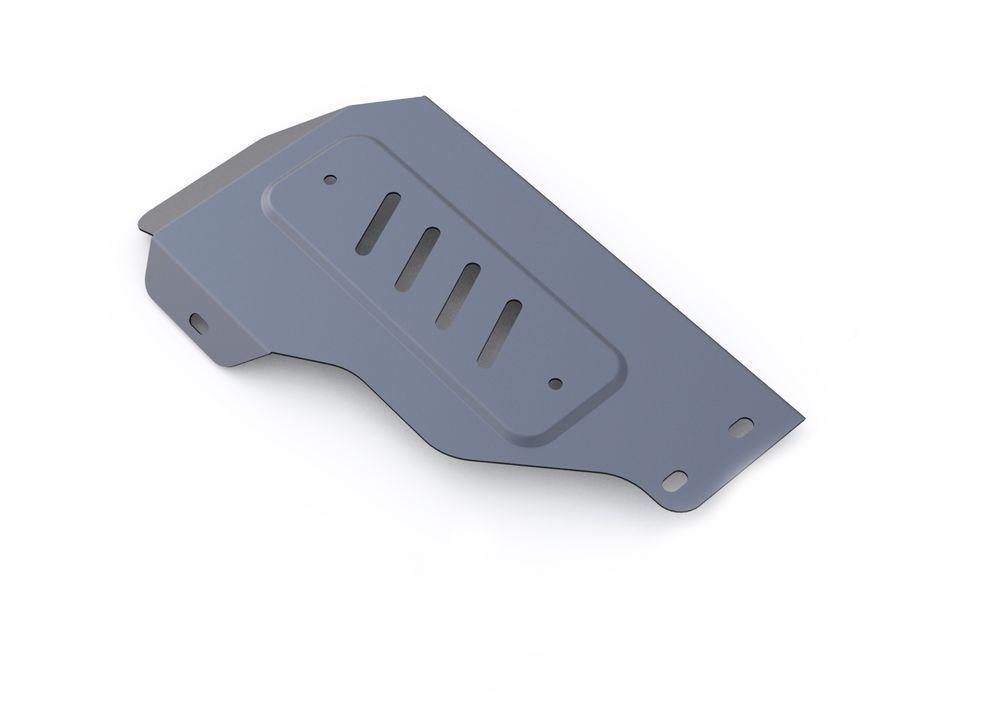 Защита редуктора Rival, для Kia Sorento Prime, алюминий 4 мм333.2832.1Защита редуктора для Kia Sorento Prime 4WD, V- 2,2CRDi; 2,4 2015-, крепеж в комплекте, алюминий 4 мм, Rival Алюминиевые защиты картера Rival надежно защищают днище вашего автомобиля от повреждений, например при наезде на бордюры, а также выполняют эстетическую функцию при установке на высокие автомобили. - Толщина алюминиевых защит в 2 раза толще стальных, а вес при этом меньше до 30%. - Отлично отводит тепло от двигателя своей поверхностью, что спасает двигатель от перегрева в летний период или при высоких нагрузках. - В отличие от стальных, алюминиевые защиты не поддаются коррозии, что гарантирует срок службы защит более 5 лет. - Покрываются порошковой краской, что надолго сохраняет первоначальный вид новой защиты и защищает от гальванической коррозии. - Глубокий штамп дополнительно усиливает конструкцию защиты. - Подштамповка в местах крепления защищает крепеж от срезания. - Технологические...
