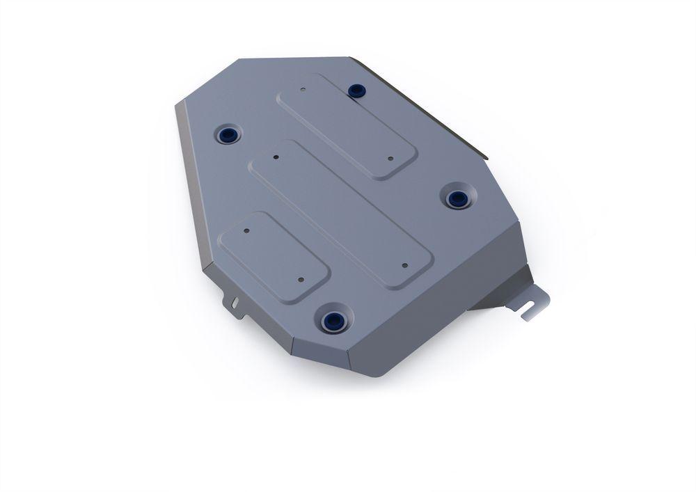 Защита топливного бака Rival, для Kia Sorento Prime, алюминий 4 мм333.2833.1Защита топливного бака для Kia Sorento Prime 4WD, V- 2,2CRDi; 2,4 2015-, крепеж в комплекте, алюминий 4 мм, Rival Алюминиевые защиты картера Rival надежно защищают днище вашего автомобиля от повреждений, например при наезде на бордюры, а также выполняют эстетическую функцию при установке на высокие автомобили. - Толщина алюминиевых защит в 2 раза толще стальных, а вес при этом меньше до 30%. - Отлично отводит тепло от двигателя своей поверхностью, что спасает двигатель от перегрева в летний период или при высоких нагрузках. - В отличие от стальных, алюминиевые защиты не поддаются коррозии, что гарантирует срок службы защит более 5 лет. - Покрываются порошковой краской, что надолго сохраняет первоначальный вид новой защиты и защищает от гальванической коррозии. - Глубокий штамп дополнительно усиливает конструкцию защиты. - Подштамповка в местах крепления защищает крепеж от срезания. - Технологические...