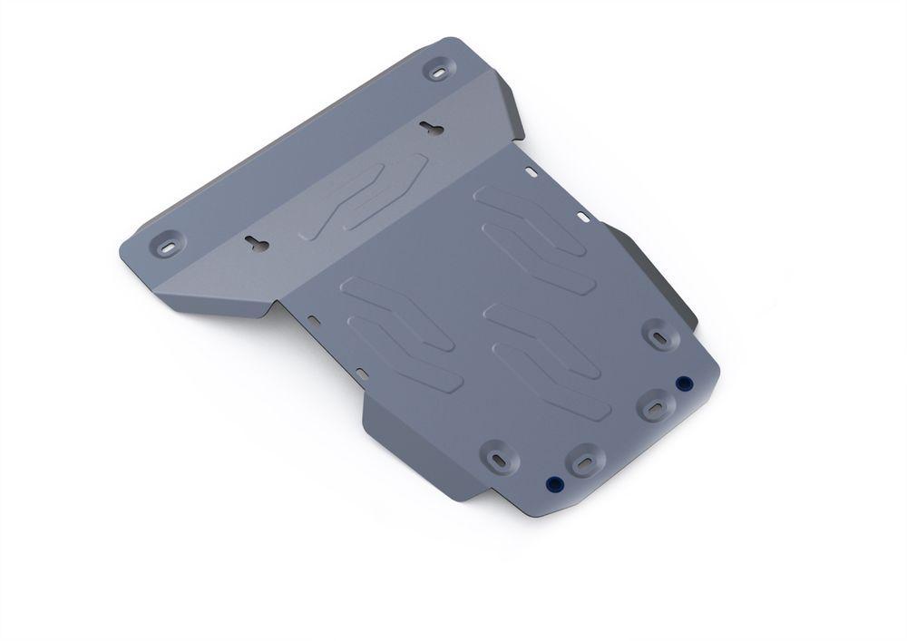 Защита картера и радиатора Rival, для Land Rover Discovery 4, алюминий 4 мм333.3110.1Защита картера и радиатора для Land Rover Discovery 4 , V - все 2009-2015, крепеж в комплекте, алюминий 4 мм, Rival Алюминиевые защиты картера Rival надежно защищают днище вашего автомобиля от повреждений, например при наезде на бордюры, а также выполняют эстетическую функцию при установке на высокие автомобили. - Толщина алюминиевых защит в 2 раза толще стальных, а вес при этом меньше до 30%. - Отлично отводит тепло от двигателя своей поверхностью, что спасает двигатель от перегрева в летний период или при высоких нагрузках. - В отличие от стальных, алюминиевые защиты не поддаются коррозии, что гарантирует срок службы защит более 5 лет. - Покрываются порошковой краской, что надолго сохраняет первоначальный вид новой защиты и защищает от гальванической коррозии. - Глубокий штамп дополнительно усиливает конструкцию защиты. - Подштамповка в местах крепления защищает крепеж от срезания. - Технологические...