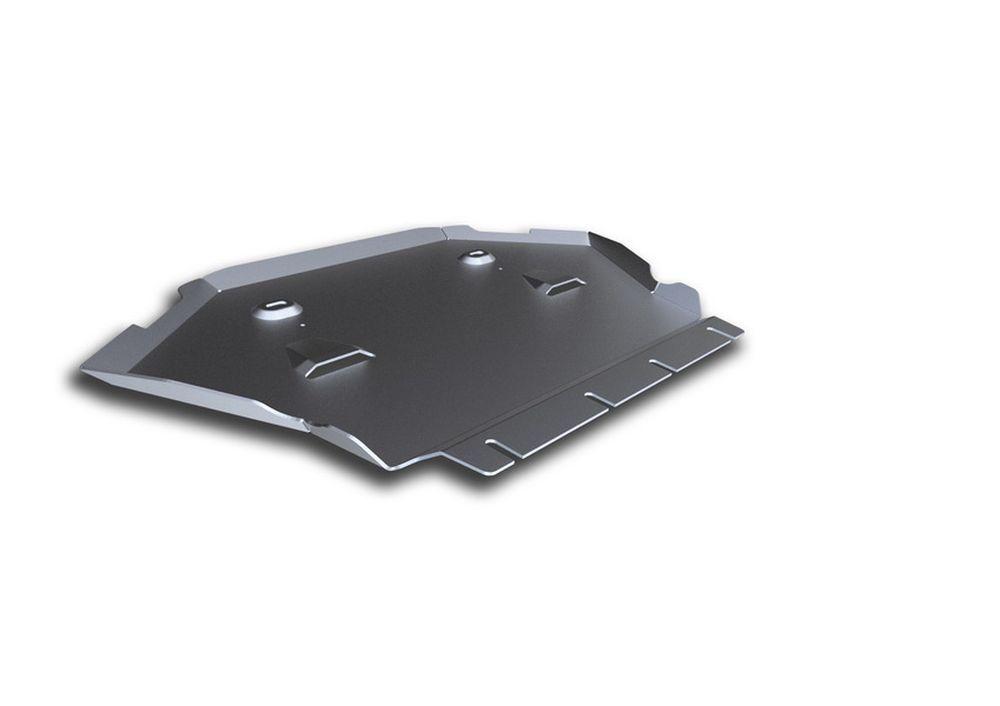 Защита картера Rival, для Mercedes Benz S, алюминий 4 мм333.3912.1Защита картера для Mercedes Benz S, (W222), 4WD, 500 2013-, крепеж в комплекте, алюминий 4 мм, Rival Алюминиевые защиты картера Rival надежно защищают днище вашего автомобиля от повреждений, например при наезде на бордюры, а также выполняют эстетическую функцию при установке на высокие автомобили. - Толщина алюминиевых защит в 2 раза толще стальных, а вес при этом меньше до 30%. - Отлично отводит тепло от двигателя своей поверхностью, что спасает двигатель от перегрева в летний период или при высоких нагрузках. - В отличие от стальных, алюминиевые защиты не поддаются коррозии, что гарантирует срок службы защит более 5 лет. - Покрываются порошковой краской, что надолго сохраняет первоначальный вид новой защиты и защищает от гальванической коррозии. - Глубокий штамп дополнительно усиливает конструкцию защиты. - Подштамповка в местах крепления защищает крепеж от срезания. - Технологические отверстия...