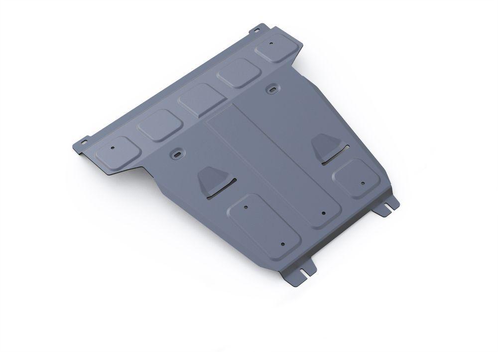 Защита картера Rival, для Mercedes Benz GLE 250d, 350d, 400, алюминий 4 мм333.3930.1Защита картера для Mercedes Benz GLE 250d, 350d, 400 2015-, крепеж в комплекте, алюминий 4 мм, Rival Алюминиевые защиты картера Rival надежно защищают днище вашего автомобиля от повреждений, например при наезде на бордюры, а также выполняют эстетическую функцию при установке на высокие автомобили. - Толщина алюминиевых защит в 2 раза толще стальных, а вес при этом меньше до 30%. - Отлично отводит тепло от двигателя своей поверхностью, что спасает двигатель от перегрева в летний период или при высоких нагрузках. - В отличие от стальных, алюминиевые защиты не поддаются коррозии, что гарантирует срок службы защит более 5 лет. - Покрываются порошковой краской, что надолго сохраняет первоначальный вид новой защиты и защищает от гальванической коррозии. - Глубокий штамп дополнительно усиливает конструкцию защиты. - Подштамповка в местах крепления защищает крепеж от срезания. - Технологические отверстия там,...