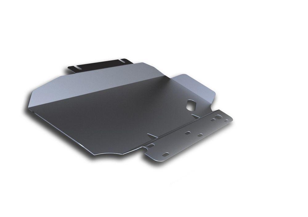 Защита картера Rival, для Nissan Navara, алюминий 4 мм333.4105.2Защита картера для Nissan Navara , V - 2,5, 3,0, 4,0 2005-2015, крепеж в комплекте, алюминий 4 мм, Rival Алюминиевые защиты картера Rival надежно защищают днище вашего автомобиля от повреждений, например при наезде на бордюры, а также выполняют эстетическую функцию при установке на высокие автомобили. - Толщина алюминиевых защит в 2 раза толще стальных, а вес при этом меньше до 30%. - Отлично отводит тепло от двигателя своей поверхностью, что спасает двигатель от перегрева в летний период или при высоких нагрузках. - В отличие от стальных, алюминиевые защиты не поддаются коррозии, что гарантирует срок службы защит более 5 лет. - Покрываются порошковой краской, что надолго сохраняет первоначальный вид новой защиты и защищает от гальванической коррозии. - Глубокий штамп дополнительно усиливает конструкцию защиты. - Подштамповка в местах крепления защищает крепеж от срезания. - Технологические отверстия...