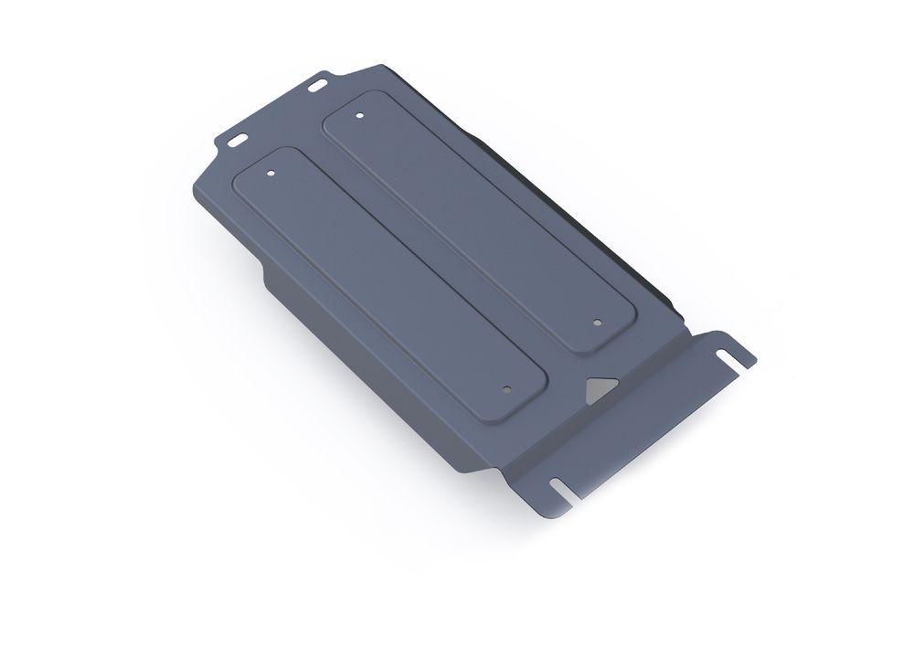 Защита КПП Rival, для Infiniti QX80, Infiniti QX56, Nissan Patrol, алюминий 4 мм333.4123.1Защита КПП для Infiniti QX80, V - 5,6 2013-; Infiniti QX56 , V - 5,6 2010-2013; Nissan Patrol , V - 5,6 2010-, крепеж в комплекте, алюминий 4 мм, Rival Алюминиевые защиты картера Rival надежно защищают днище вашего автомобиля от повреждений, например при наезде на бордюры, а также выполняют эстетическую функцию при установке на высокие автомобили. - Толщина алюминиевых защит в 2 раза толще стальных, а вес при этом меньше до 30%. - Отлично отводит тепло от двигателя своей поверхностью, что спасает двигатель от перегрева в летний период или при высоких нагрузках. - В отличие от стальных, алюминиевые защиты не поддаются коррозии, что гарантирует срок службы защит более 5 лет. - Покрываются порошковой краской, что надолго сохраняет первоначальный вид новой защиты и защищает от гальванической коррозии. - Глубокий штамп дополнительно усиливает конструкцию защиты. - Подштамповка в местах крепления защищает крепеж от...