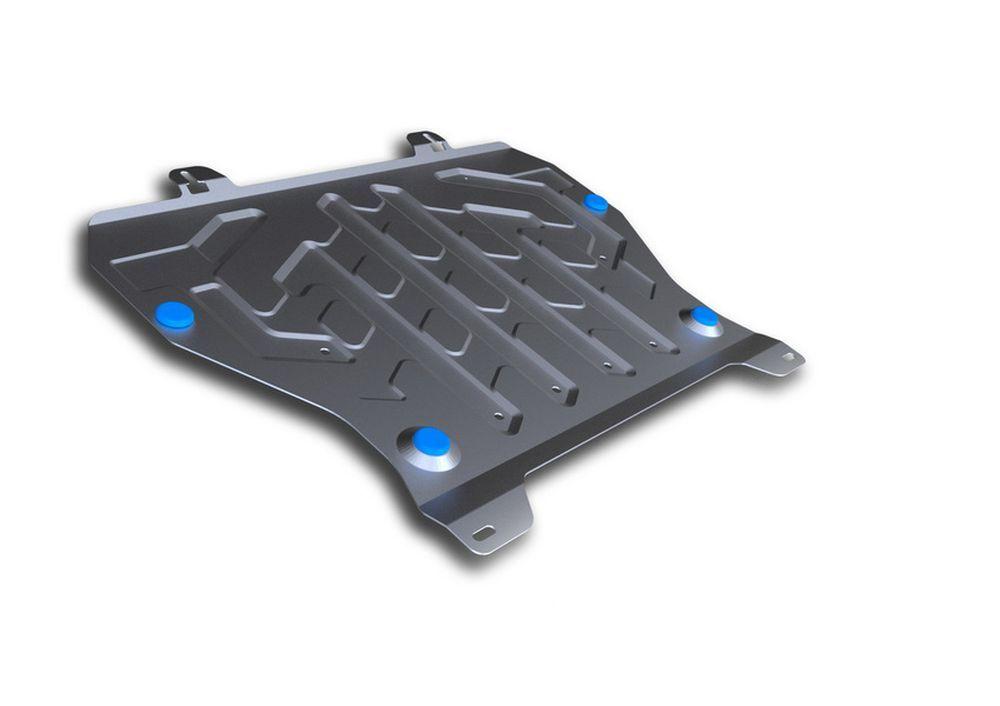 Защита картера и КПП Rival, для Nissan Juke, алюминий 3 мм333.4141.1Защита картера и КПП для Nissan Juke , V - 1,6 2011-, крепеж в комплекте, алюминий 3 мм, Rival Алюминиевые защиты картера Rival надежно защищают днище вашего автомобиля от повреждений, например при наезде на бордюры, а также выполняют эстетическую функцию при установке на высокие автомобили. - Толщина алюминиевых защит в 2 раза толще стальных, а вес при этом меньше до 30%. - Отлично отводит тепло от двигателя своей поверхностью, что спасает двигатель от перегрева в летний период или при высоких нагрузках. - В отличие от стальных, алюминиевые защиты не поддаются коррозии, что гарантирует срок службы защит более 5 лет. - Покрываются порошковой краской, что надолго сохраняет первоначальный вид новой защиты и защищает от гальванической коррозии. - Глубокий штамп дополнительно усиливает конструкцию защиты. - Подштамповка в местах крепления защищает крепеж от срезания. - Технологические отверстия там, где...