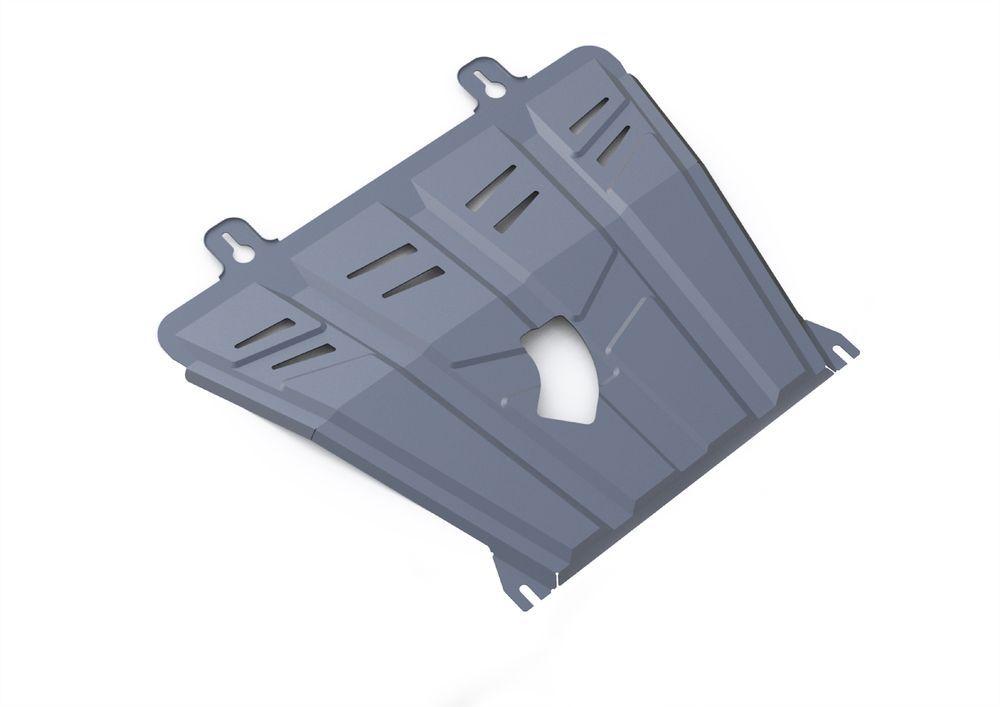 Защита картера и КПП Rival, для Nissan Qashqai, алюминий 3 мм333.4158.1Защита картера и КПП для Nissan Qashqai, V - 1,2T, 2,0(российская сборка) 2015-, крепеж в комплекте, алюминий 3 мм, Rival Алюминиевые защиты картера Rival надежно защищают днище вашего автомобиля от повреждений, например при наезде на бордюры, а также выполняют эстетическую функцию при установке на высокие автомобили. - Толщина алюминиевых защит в 2 раза толще стальных, а вес при этом меньше до 30%. - Отлично отводит тепло от двигателя своей поверхностью, что спасает двигатель от перегрева в летний период или при высоких нагрузках. - В отличие от стальных, алюминиевые защиты не поддаются коррозии, что гарантирует срок службы защит более 5 лет. - Покрываются порошковой краской, что надолго сохраняет первоначальный вид новой защиты и защищает от гальванической коррозии. - Глубокий штамп дополнительно усиливает конструкцию защиты. - Подштамповка в местах крепления защищает крепеж от срезания. -...