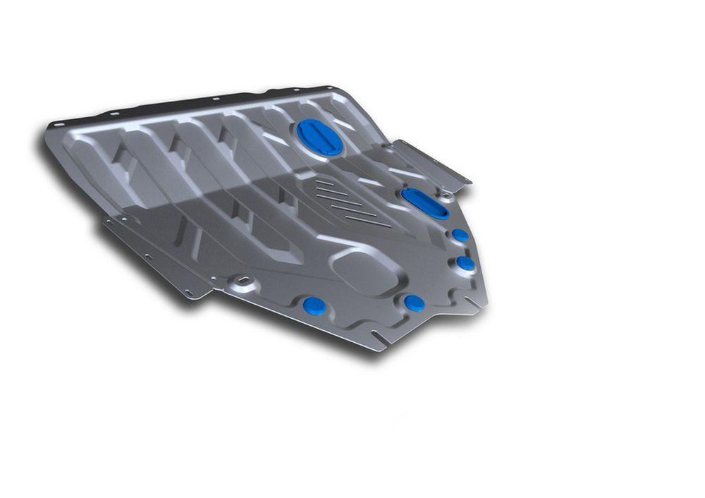 Защита картера и КПП Rival, для Suzuki SX4, алюминий 3 мм333.5511.1Защита картера и КПП для Suzuki SX4 , V - 1,6 2013-, крепеж в комплекте, алюминий 3 мм, Rival Алюминиевые защиты картера Rival надежно защищают днище вашего автомобиля от повреждений, например при наезде на бордюры, а также выполняют эстетическую функцию при установке на высокие автомобили. - Толщина алюминиевых защит в 2 раза толще стальных, а вес при этом меньше до 30%. - Отлично отводит тепло от двигателя своей поверхностью, что спасает двигатель от перегрева в летний период или при высоких нагрузках. - В отличие от стальных, алюминиевые защиты не поддаются коррозии, что гарантирует срок службы защит более 5 лет. - Покрываются порошковой краской, что надолго сохраняет первоначальный вид новой защиты и защищает от гальванической коррозии. - Глубокий штамп дополнительно усиливает конструкцию защиты. - Подштамповка в местах крепления защищает крепеж от срезания. - Технологические отверстия там, где они...
