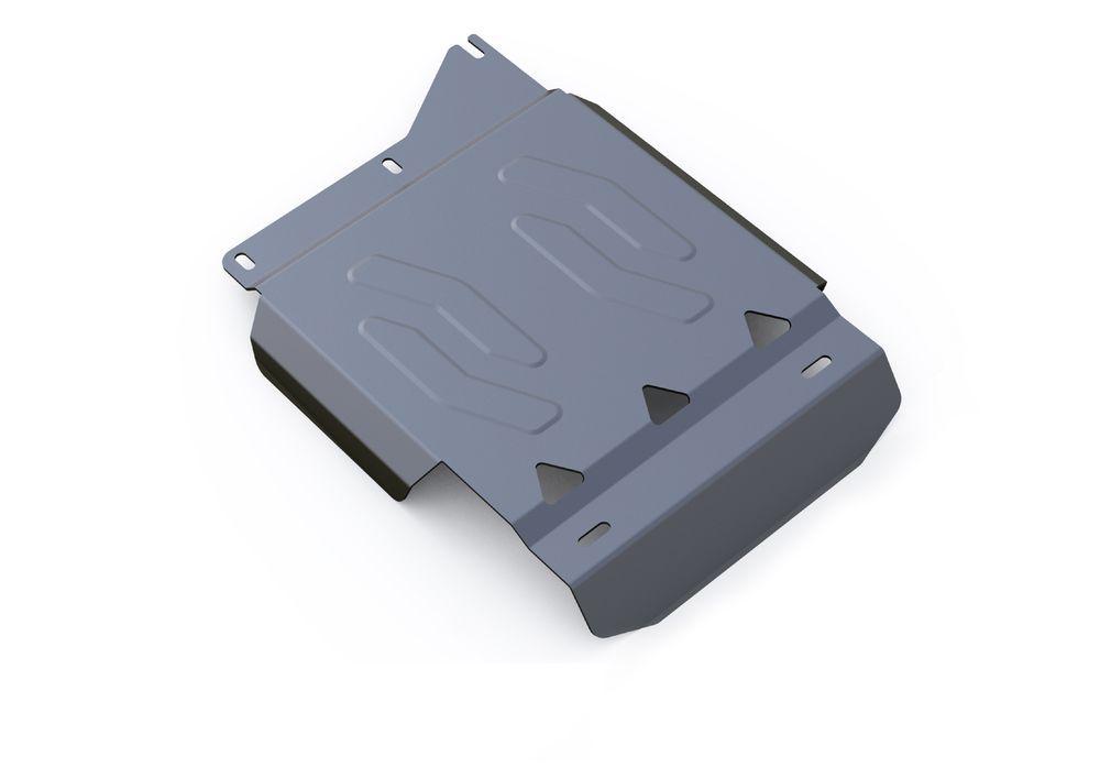 Защита РК Rival, для Toyota Tundra, алюминий 4 мм333.5749.1Защита РК для Toyota Tundra , V-5,7 2007-, крепеж в комплекте, алюминий 4 мм, Rival Алюминиевые защиты картера Rival надежно защищают днище вашего автомобиля от повреждений, например при наезде на бордюры, а также выполняют эстетическую функцию при установке на высокие автомобили. - Толщина алюминиевых защит в 2 раза толще стальных, а вес при этом меньше до 30%. - Отлично отводит тепло от двигателя своей поверхностью, что спасает двигатель от перегрева в летний период или при высоких нагрузках. - В отличие от стальных, алюминиевые защиты не поддаются коррозии, что гарантирует срок службы защит более 5 лет. - Покрываются порошковой краской, что надолго сохраняет первоначальный вид новой защиты и защищает от гальванической коррозии. - Глубокий штамп дополнительно усиливает конструкцию защиты. - Подштамповка в местах крепления защищает крепеж от срезания. - Технологические отверстия там, где они...