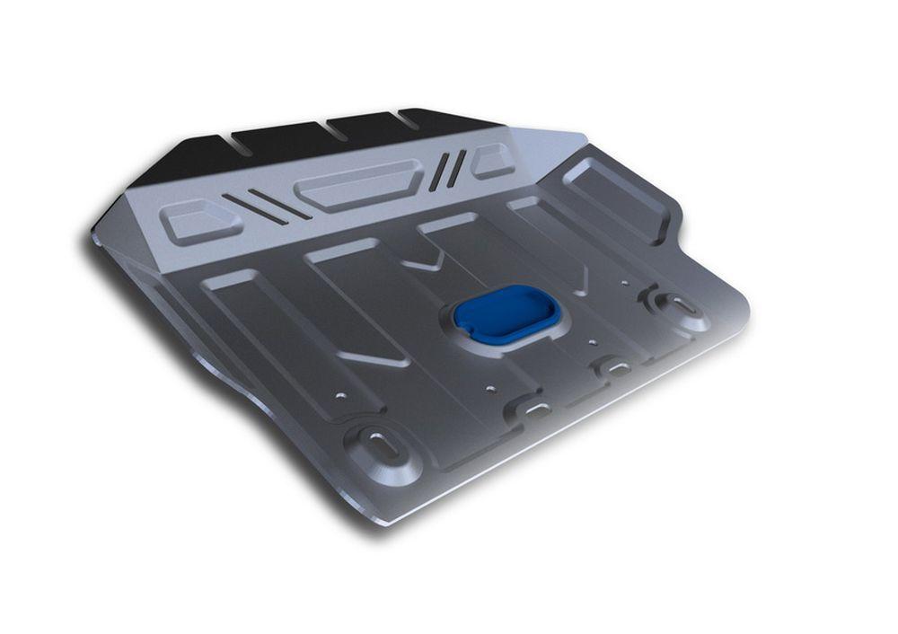Защита картера Rival, для Lexus GX 460, Toyota LC150, Toyota FJ Cruiser, 2 часть, алюминий 4 мм333.5784.1Защита картера часть 2 для Lexus GX 460 , V - 4,6 2009-; Toyota LC150 , V - 2,7, 3,0TD, 4,0, 2,8TD 2009-; Toyota FJ Cruiser , V - 4,0 2010-, крепеж в комплекте, алюминий 4 мм, Rival Алюминиевые защиты картера Rival надежно защищают днище вашего автомобиля от повреждений, например при наезде на бордюры, а также выполняют эстетическую функцию при установке на высокие автомобили. - Толщина алюминиевых защит в 2 раза толще стальных, а вес при этом меньше до 30%. - Отлично отводит тепло от двигателя своей поверхностью, что спасает двигатель от перегрева в летний период или при высоких нагрузках. - В отличие от стальных, алюминиевые защиты не поддаются коррозии, что гарантирует срок службы защит более 5 лет. - Покрываются порошковой краской, что надолго сохраняет первоначальный вид новой защиты и защищает от гальванической коррозии. - Глубокий штамп дополнительно усиливает конструкцию защиты. - Подштамповка в местах...